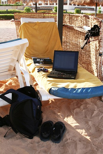 As a Travel Writer, This Could Be Your Office!