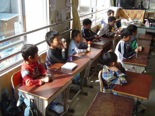 These Japanese Schoolchildren Could Learn A Thing or Two from You!
