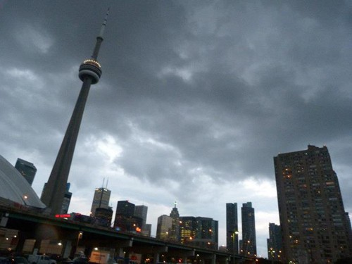 We didn't go up the CN Tower, the most famous Toronto landmark