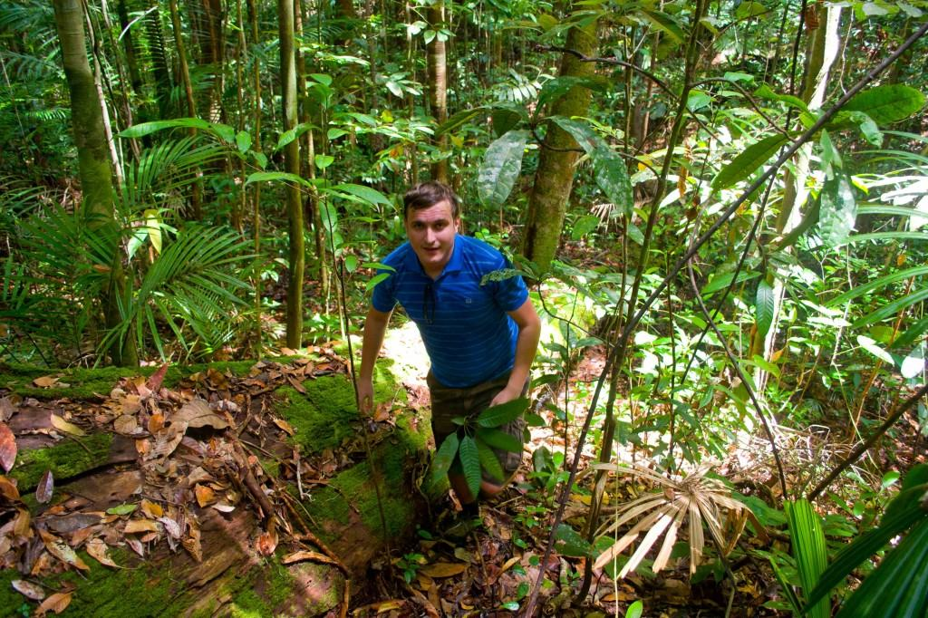 Where the hell are we? - lost in the jungle in Lambir Hills National Park
