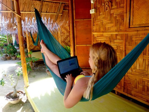 Blogging on Koh Phi Phi, Thailand