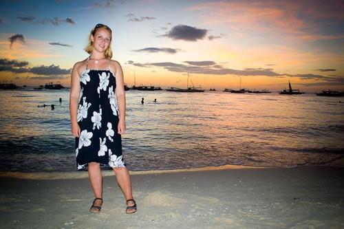 The stunning Boracay sunset