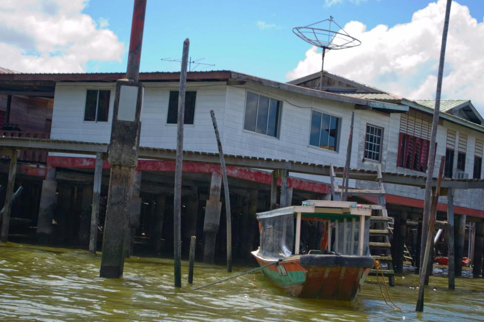 A house in the floating village