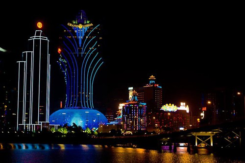 Beautiful Macau at night