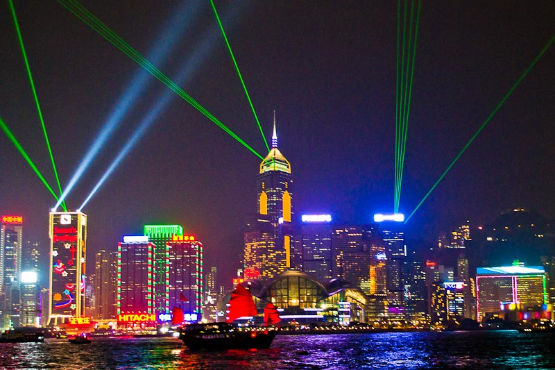 Hong Kong - A Symphony of Lights