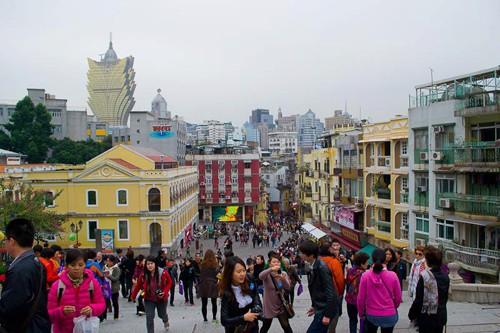 The architecture of Macau