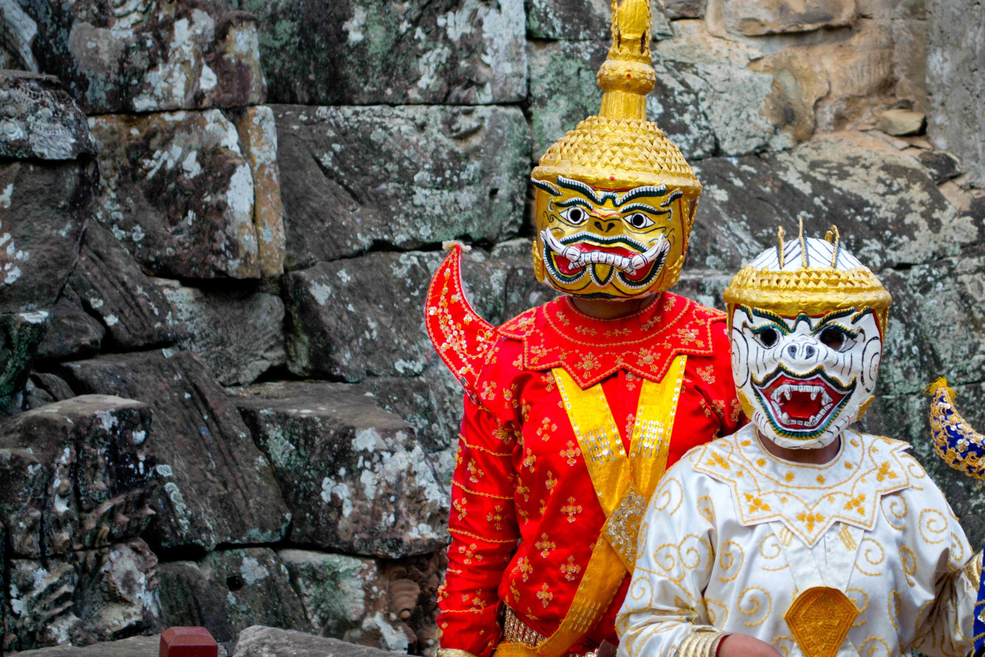 cambodian costume