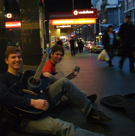 make money while you travel by busking