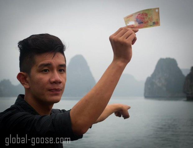 halong bay vietnam money