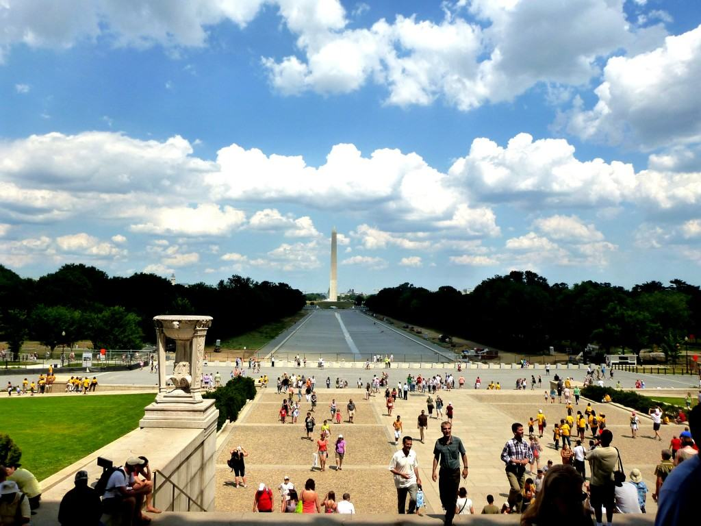 Working abroad in the USA means you can visit Washington, DC!