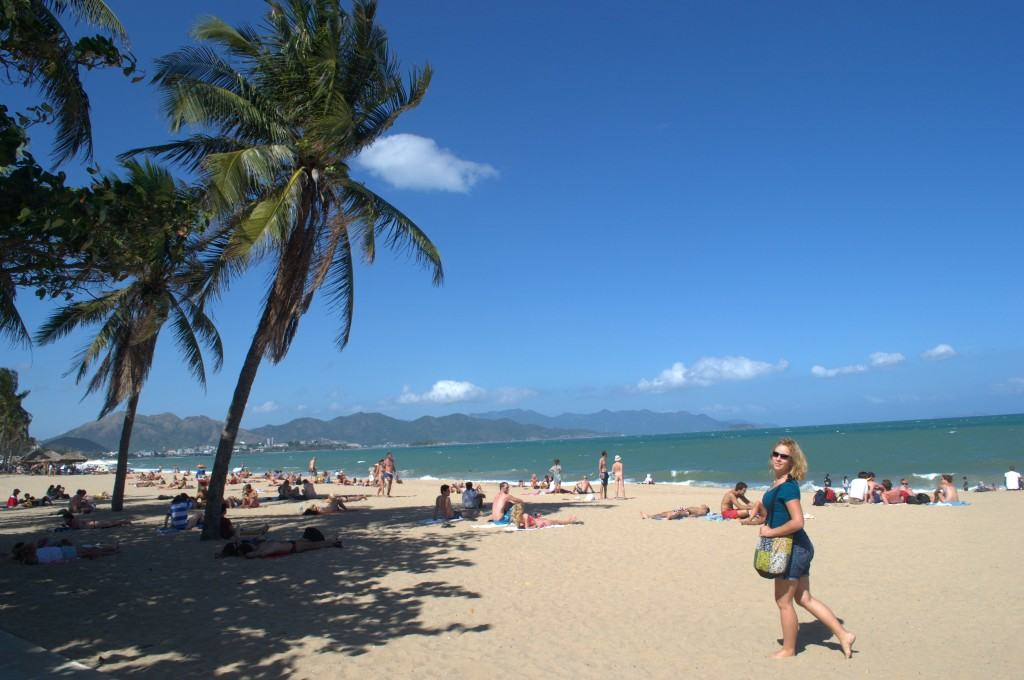 Work's done... now it's time to play! Nha Trang, Vietnam