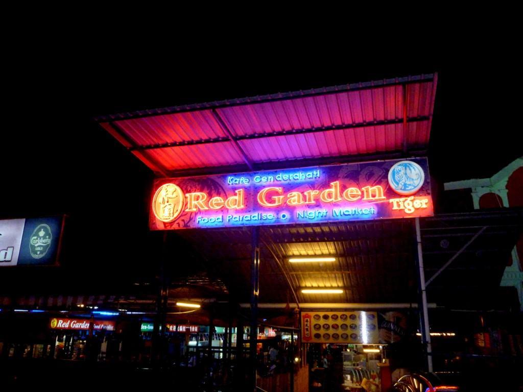 Red Garden Food Court, Georgetown, Penang