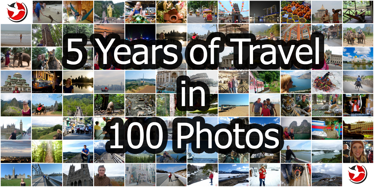 5 Years of Travel in 100 Photos