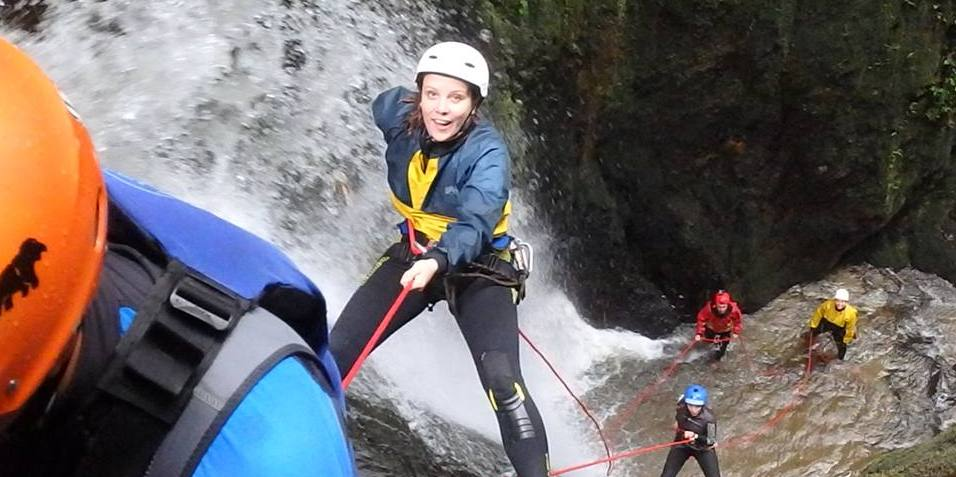 Rappelling down waterfalls, anyone?