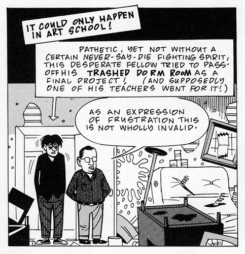 Daniel Clowes, 1961. Art School Confidential,1991-