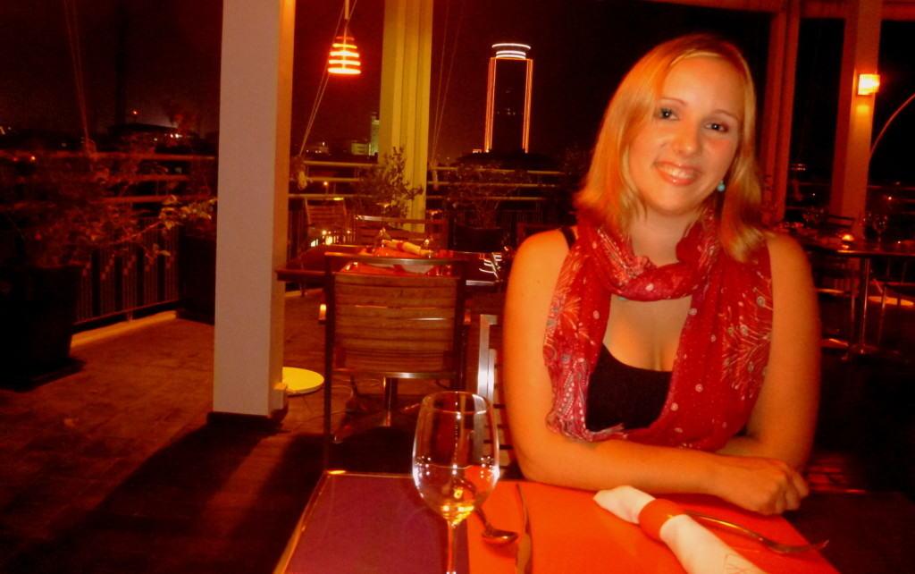 On a date night in Phnom Penh, Cambodia