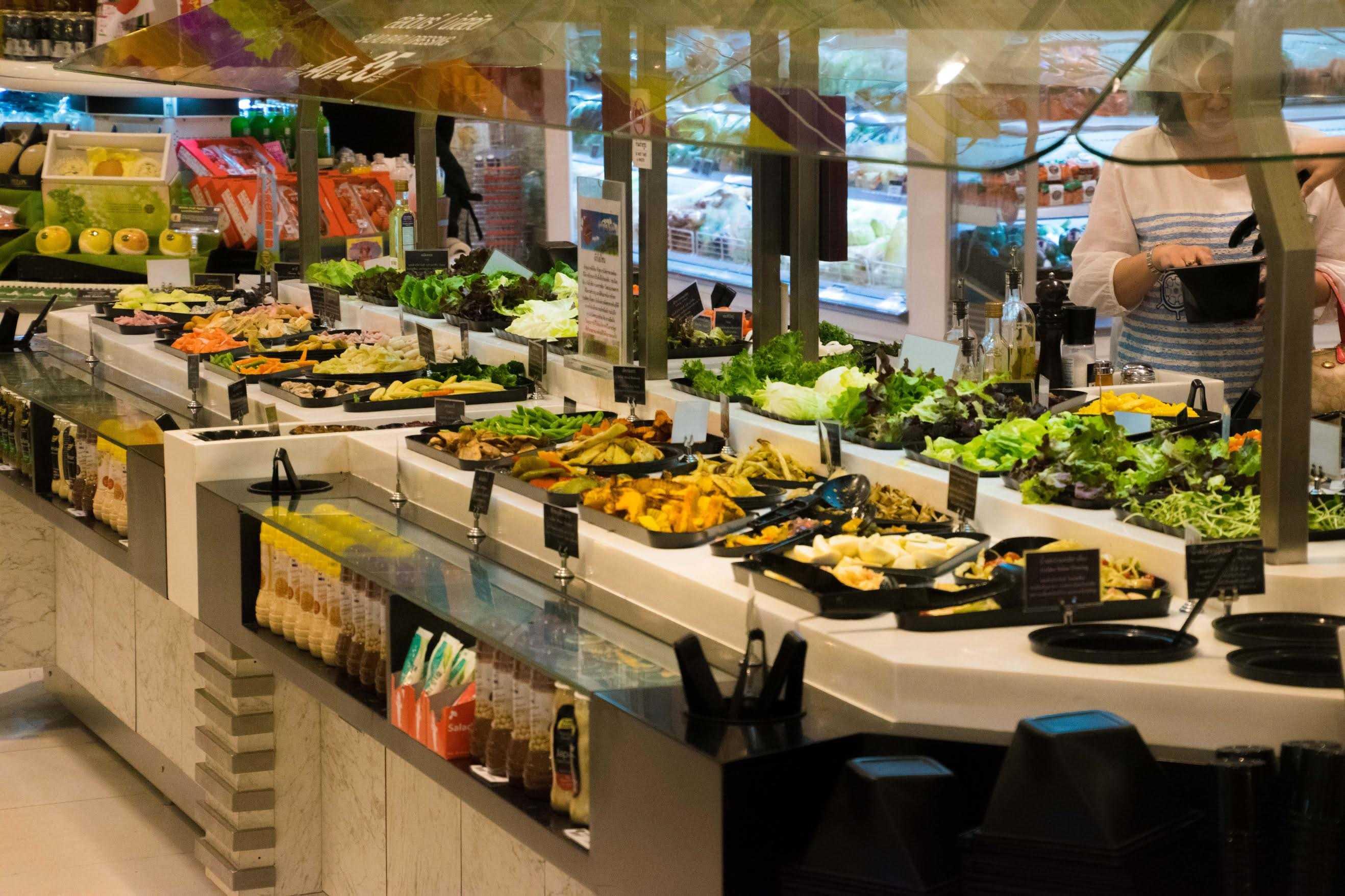 siam paragon gourmet food hall
