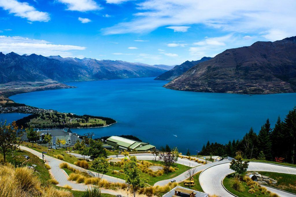 Lake Wakatipi, New Zealand