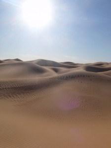 Moroccan Desert - Photo by Geordon Omand