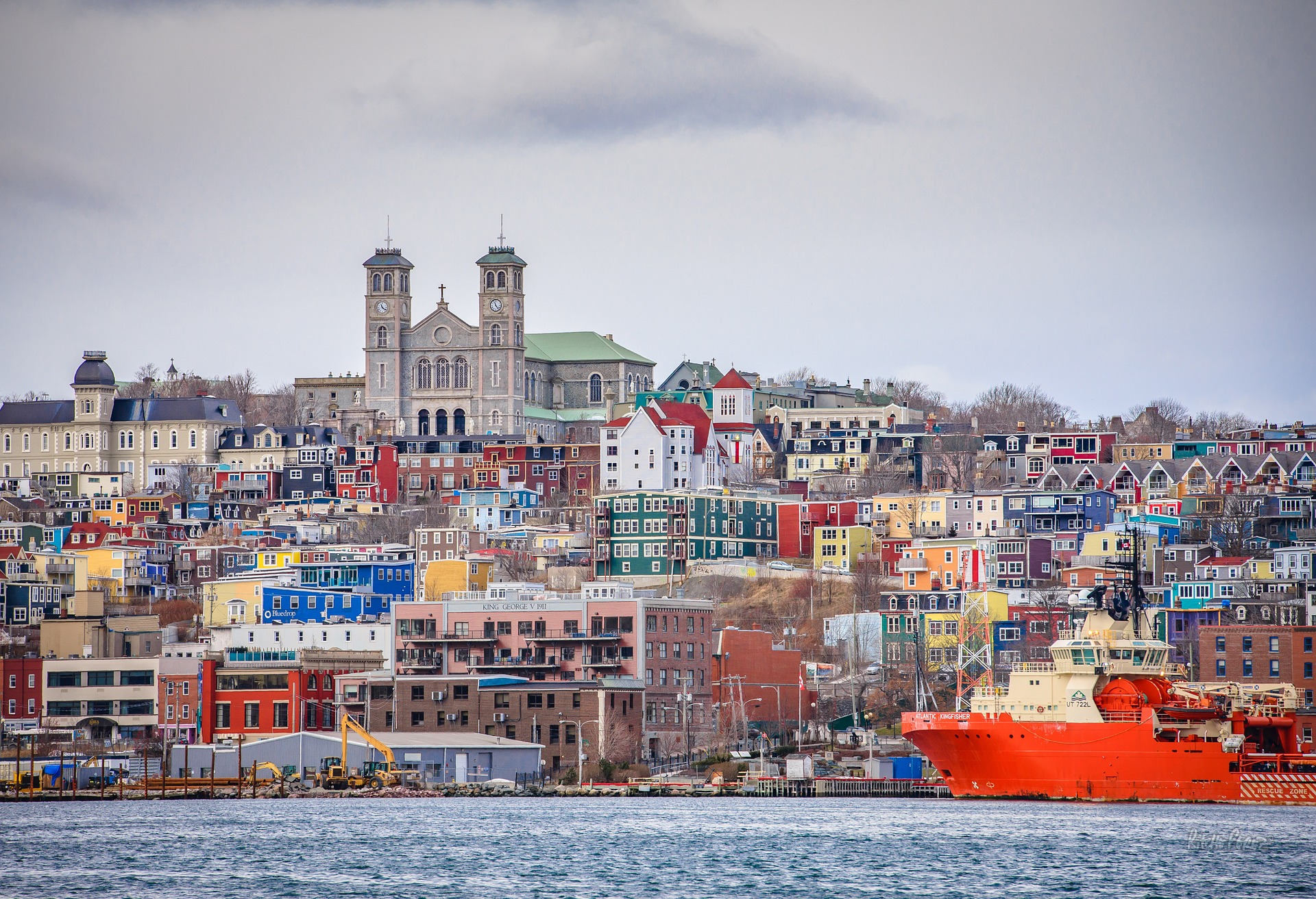 A view of downtown St. John's