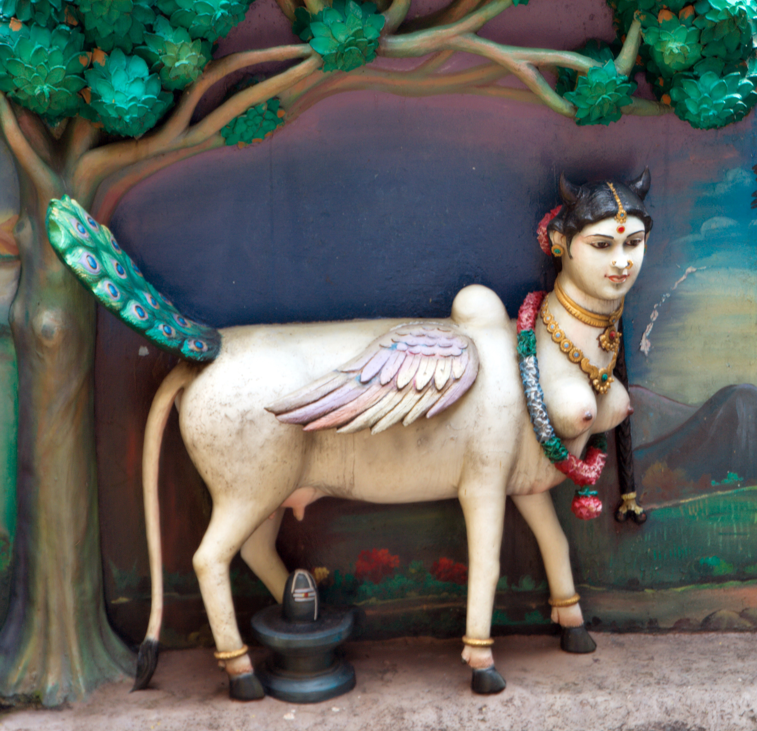 The Mother of All Cows Hindu Goddess