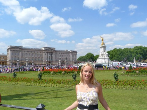 We visited London during my year abroad in the UK