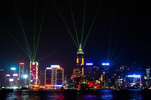 The Hong Kong Symphony of Lights