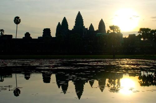 Temples of Angkor Wat sunrise
