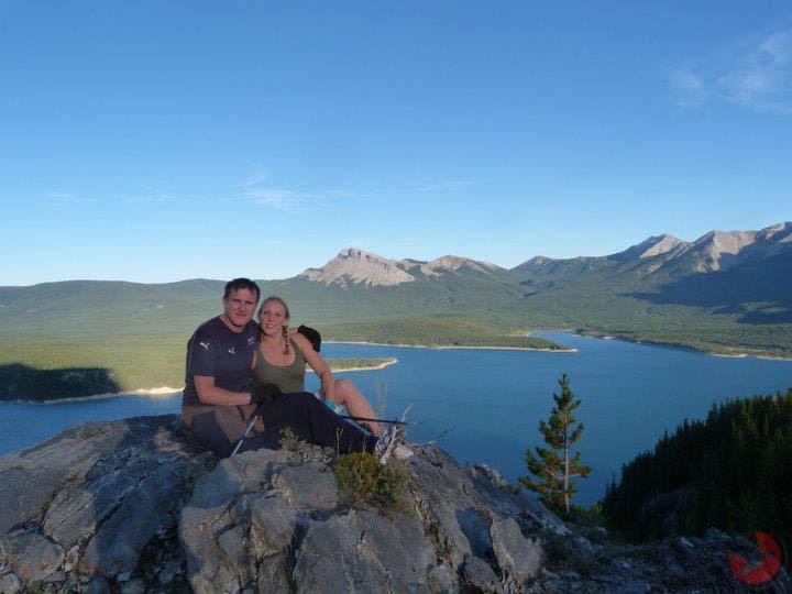 Lake Abraham Alberta Rocky Mountains