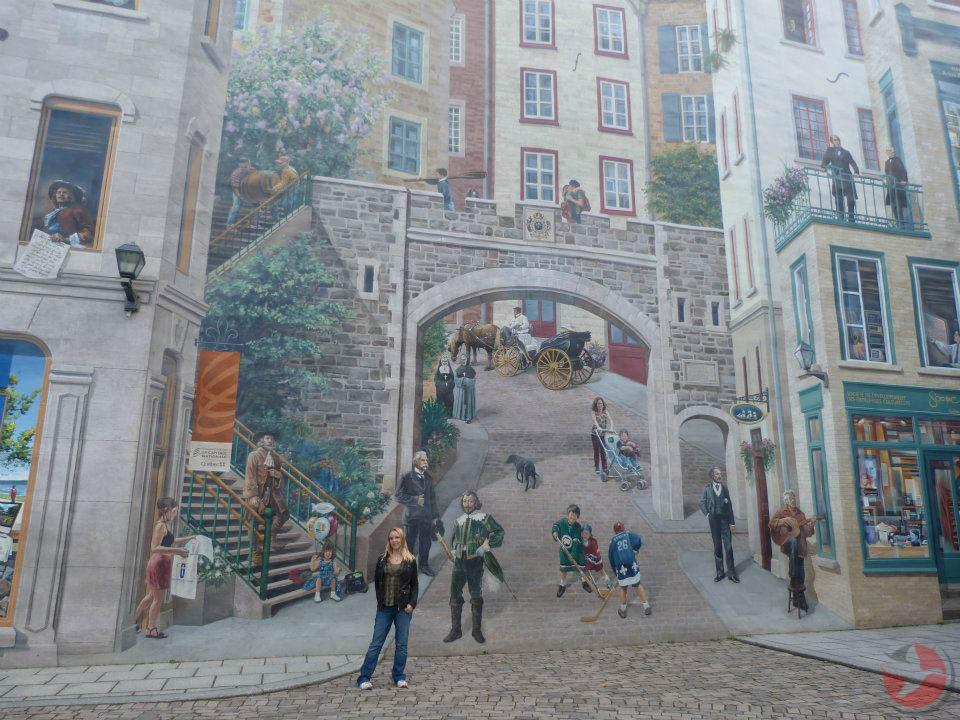 Kelly Dunning Quebec City Murals Canada