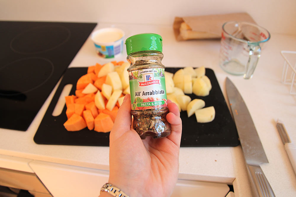 Arrabbiata spice mix