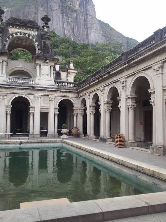 Palace in Rio De Janiero