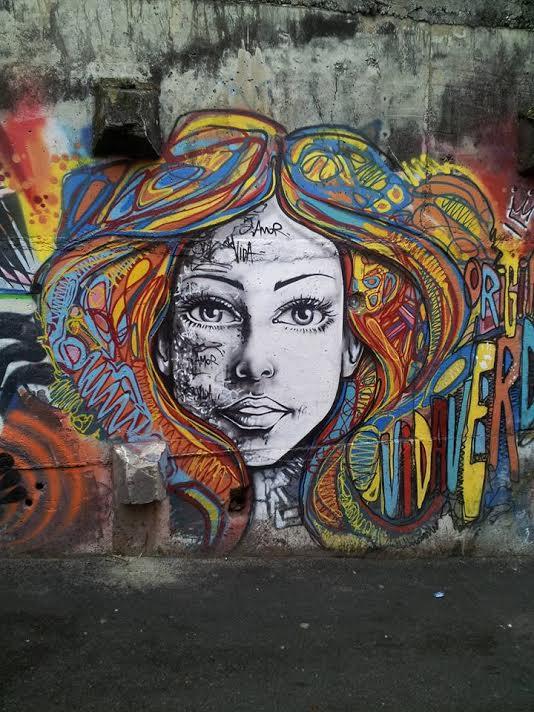 Street Art, Rio de Janiero, Brazil
