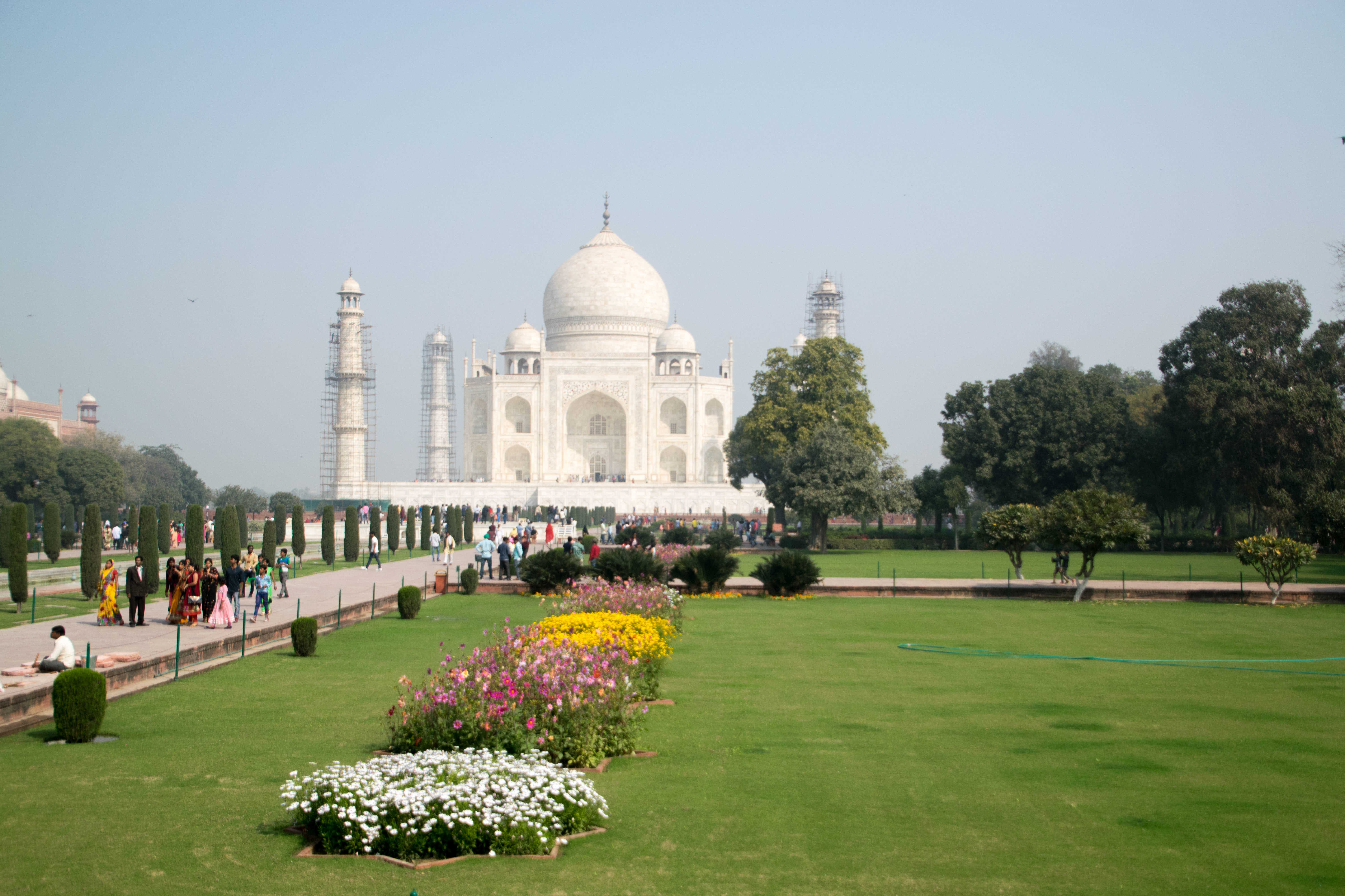 My bout of Delhi Belly struck on the same day that I saw the Taj Mahal. It really was a day of extreme highs and lows.