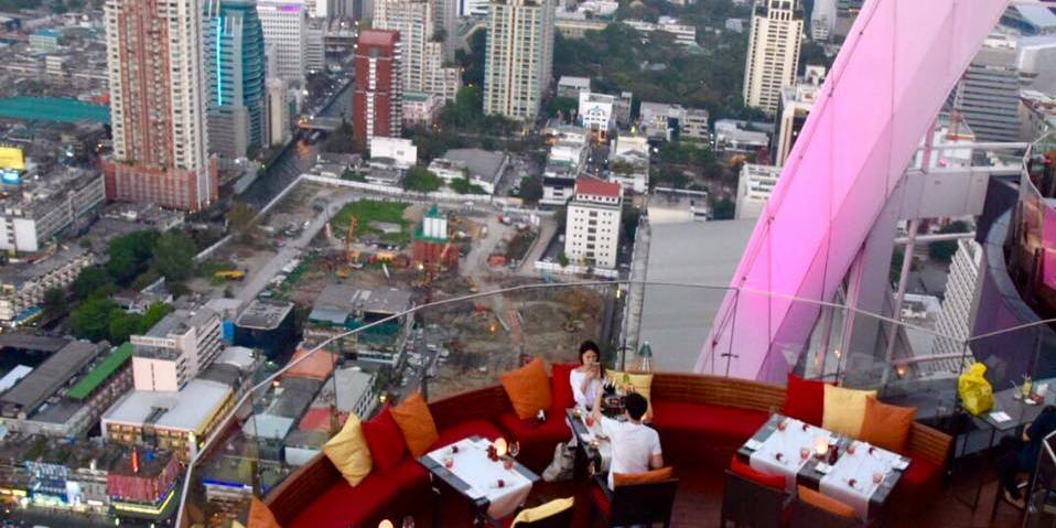 Centara Grand Bangkok rooftop bar