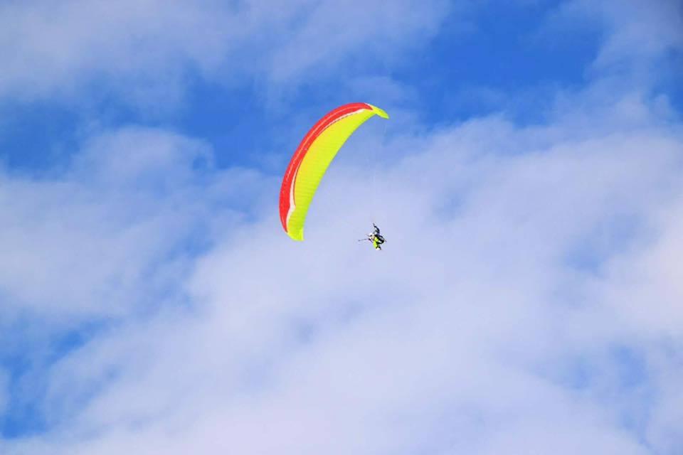 Hang Gliding, Gudauri, Georgia