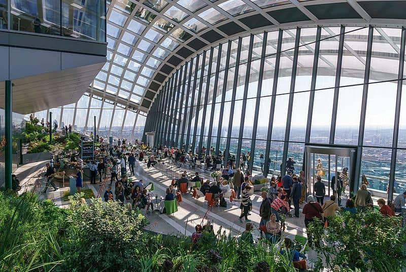 Sky Garden London 2018