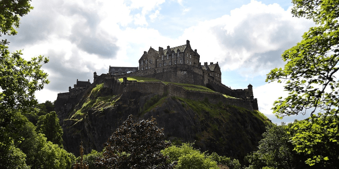 Edinburgh Castle is an important historical attraction