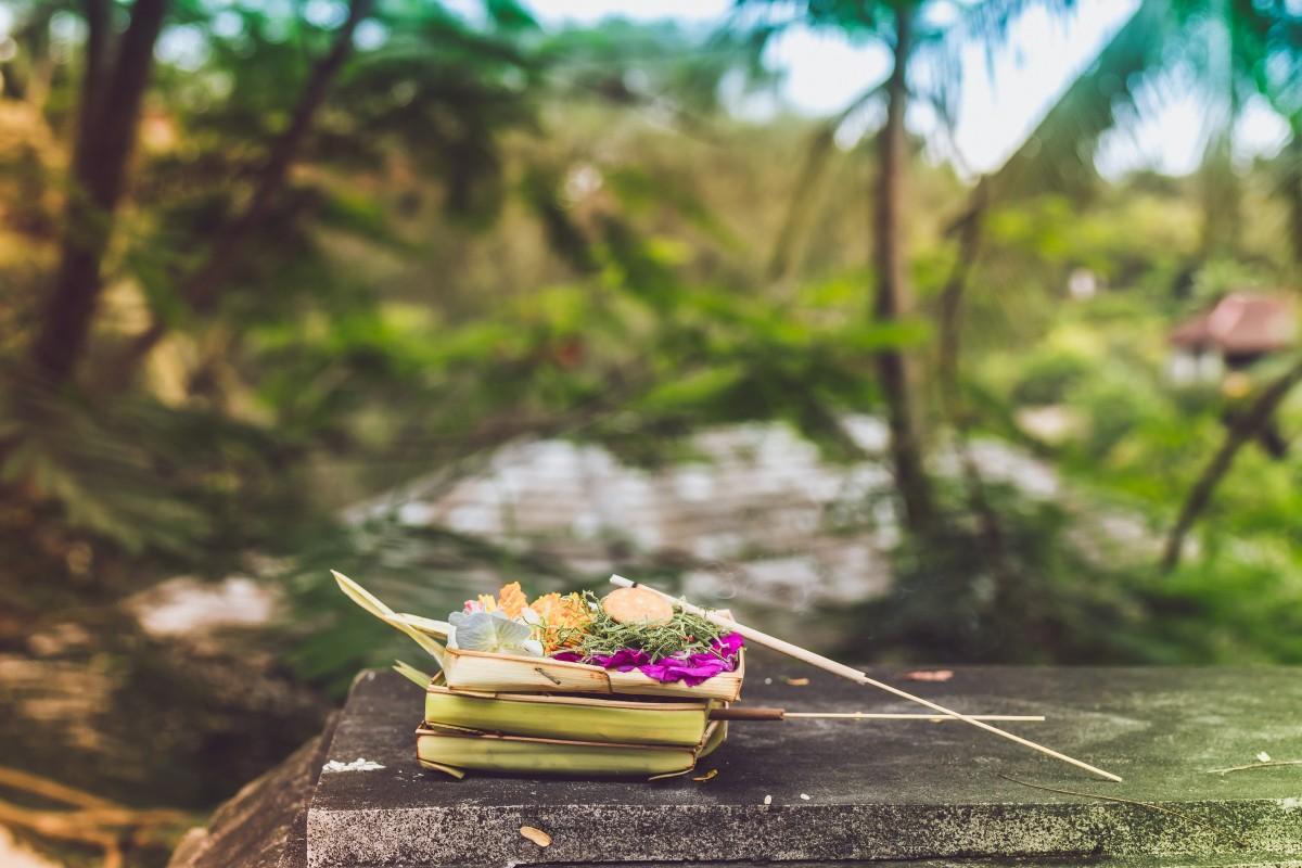 canang sari bali offering