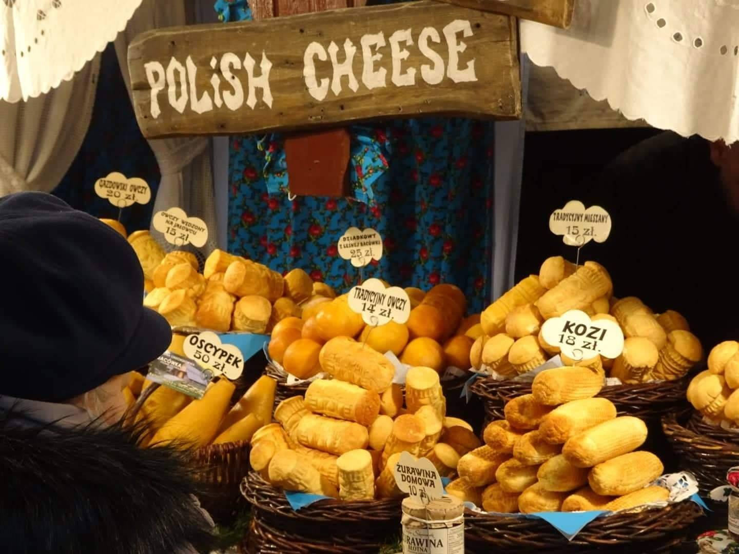 Polish cheese is delicious!